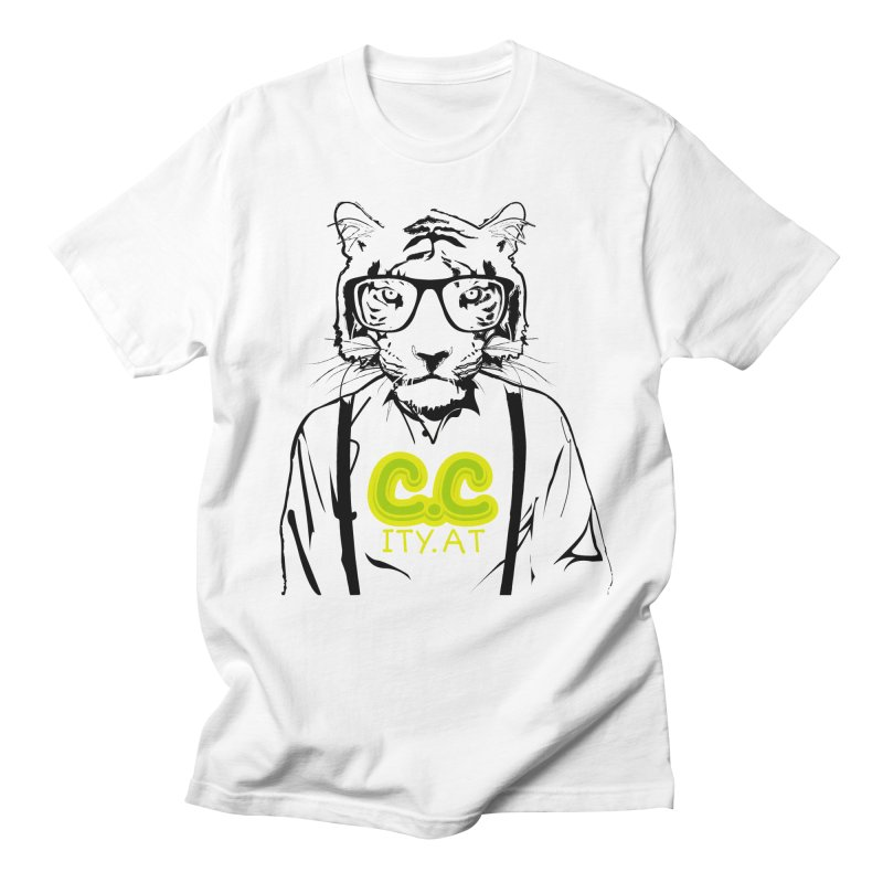 citycat Men's T-shirt by masslos's Artist Shop