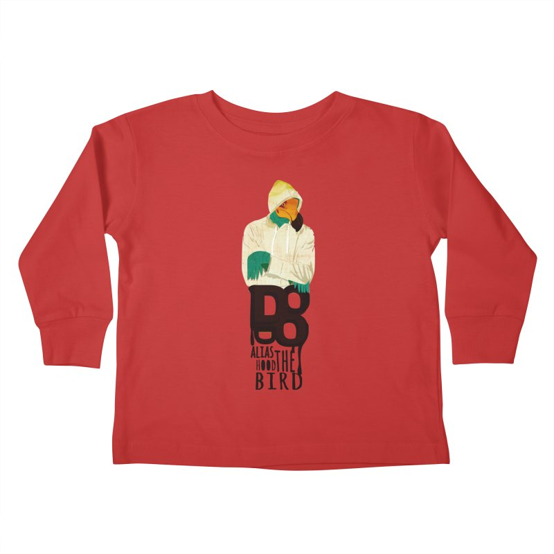 dodo Kids Toddler Longsleeve T-Shirt by masslos's Artist Shop