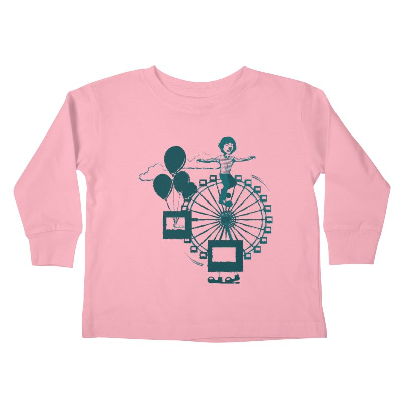 Ferris wheel Kids Toddler Longsleeve T-Shirt by masslos's Artist Shop