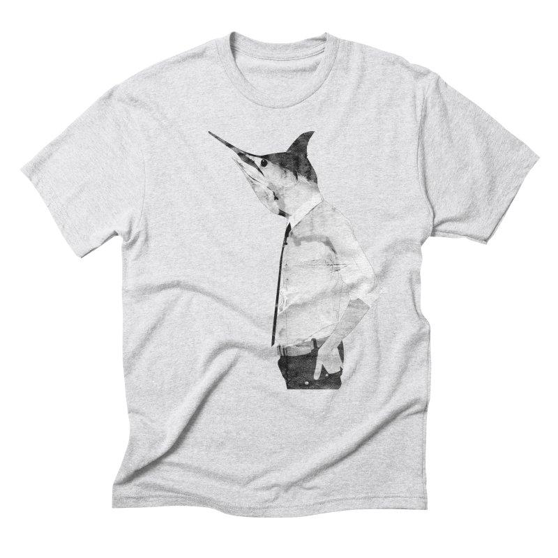 fish head Men's Triblend T-Shirt by masslos's Artist Shop