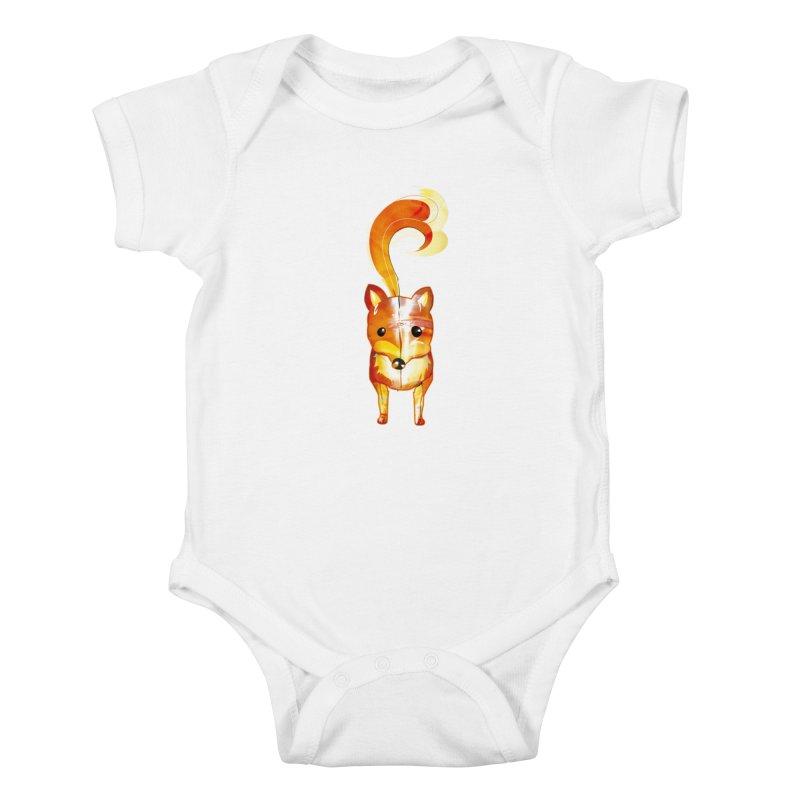 foxxy Kids Baby Bodysuit by masslos's Artist Shop