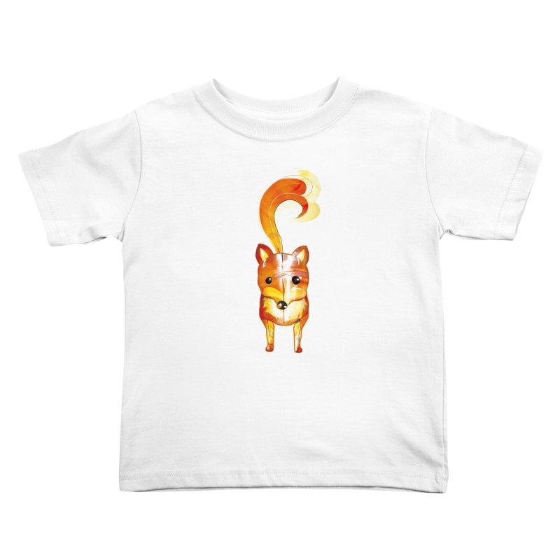 foxxy Kids Toddler T-Shirt by masslos's Artist Shop