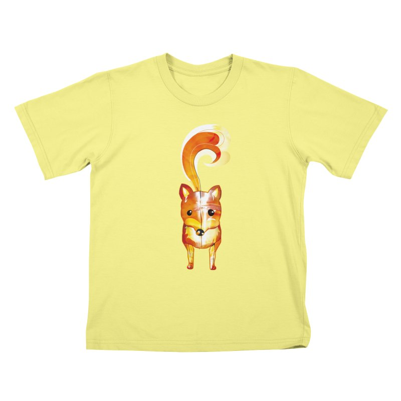 foxxy Kids T-shirt by masslos's Artist Shop