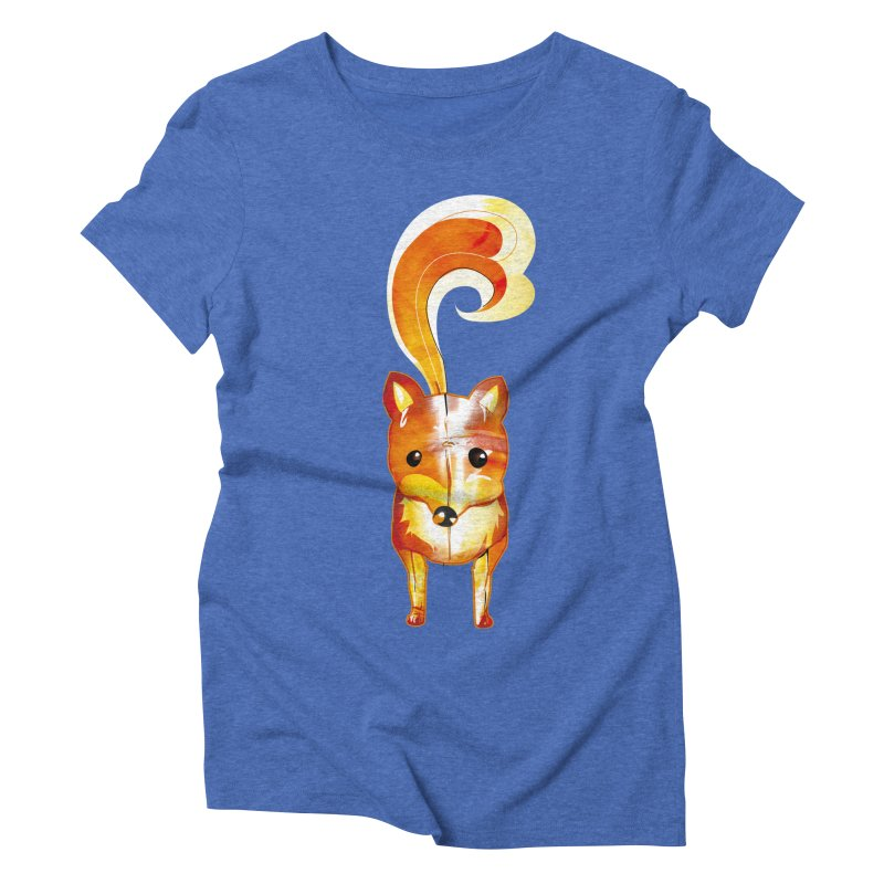foxxy Women's Triblend T-Shirt by masslos's Artist Shop