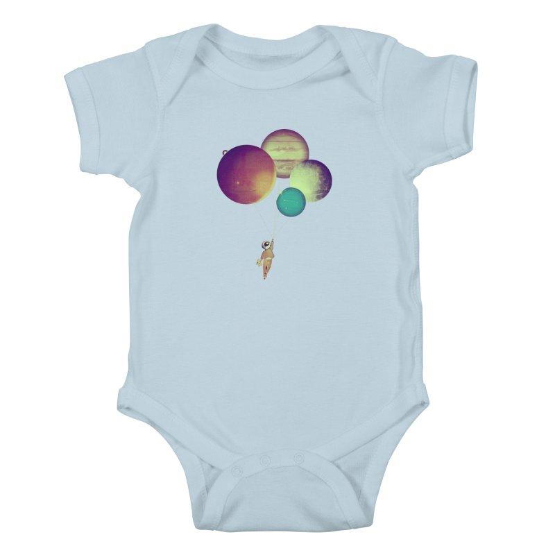 i_become_an_astronaut Kids Baby Bodysuit by masslos's Artist Shop