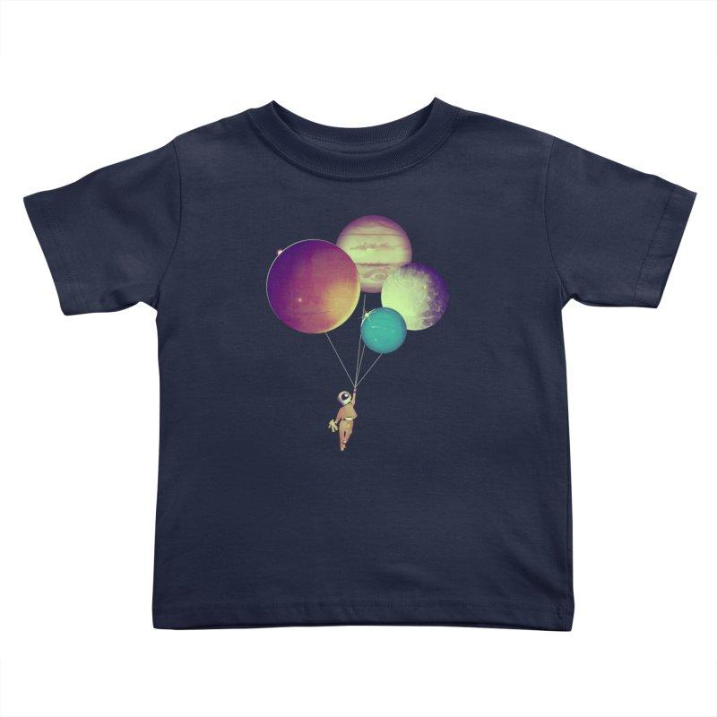 i_become_an_astronaut Kids Toddler T-Shirt by masslos's Artist Shop