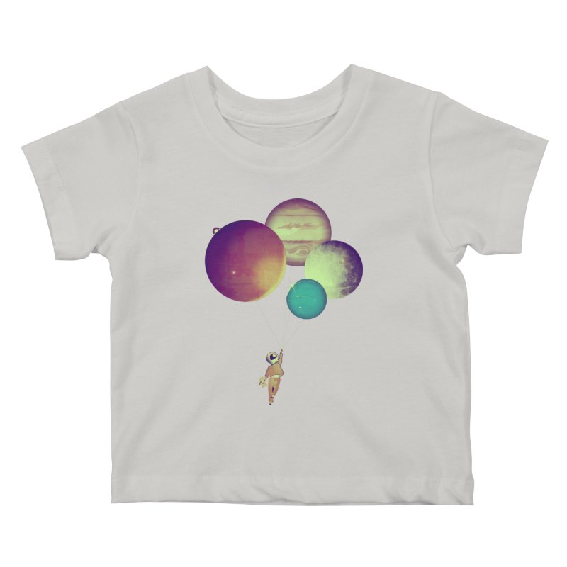 i_become_an_astronaut Kids Baby T-Shirt by masslos's Artist Shop