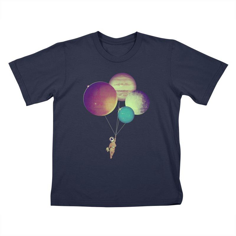 i_become_an_astronaut Kids T-Shirt by masslos's Artist Shop