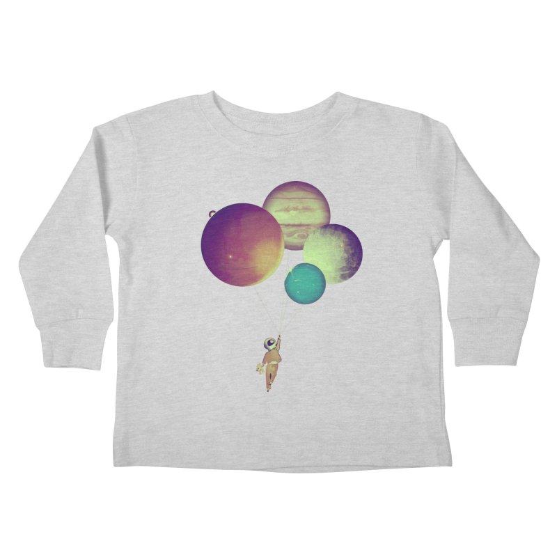 i_become_an_astronaut Kids Toddler Longsleeve T-Shirt by masslos's Artist Shop