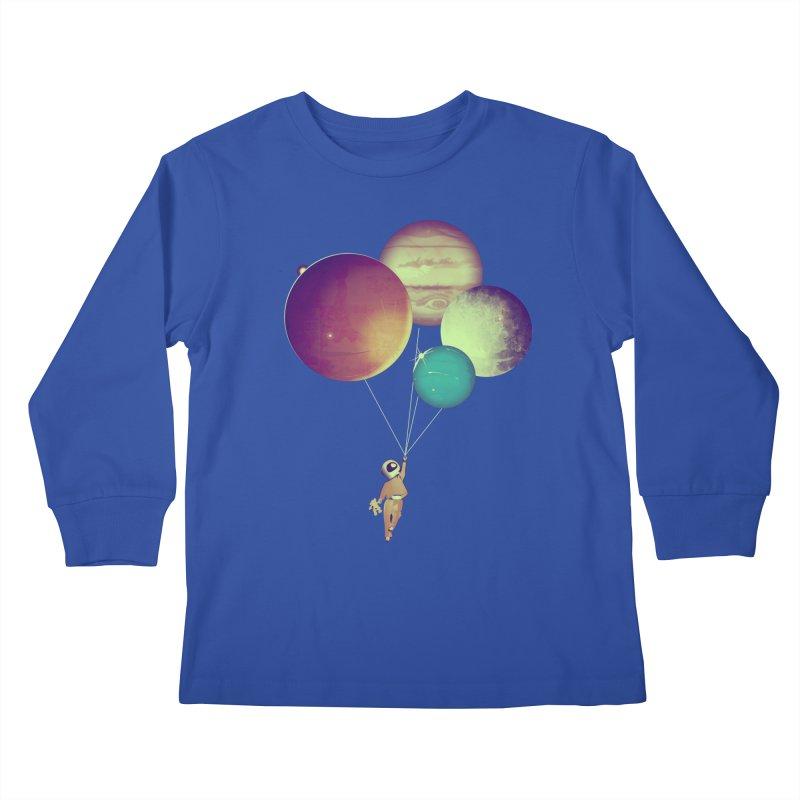 i_become_an_astronaut Kids Longsleeve T-Shirt by masslos's Artist Shop