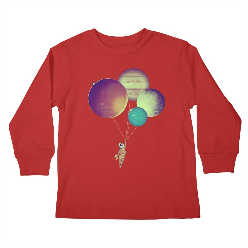 i_become_an_astronaut Kids Longsleeve T-Shirt by masslos's Artist Shop
