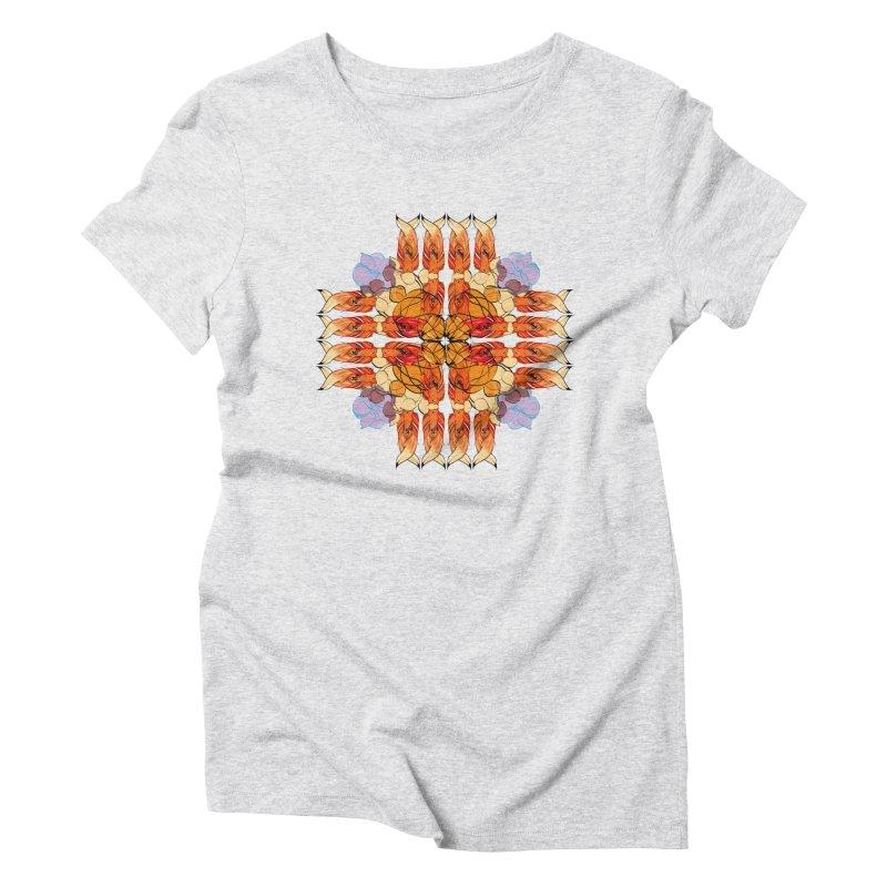 indian summer Women's Triblend T-shirt by masslos's Artist Shop