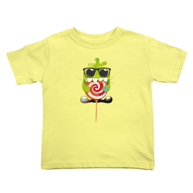 lolly monster Kids Toddler T-Shirt by masslos's Artist Shop