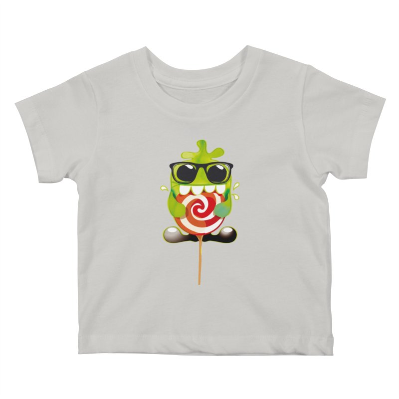 lolly monster Kids Baby T-Shirt by masslos's Artist Shop
