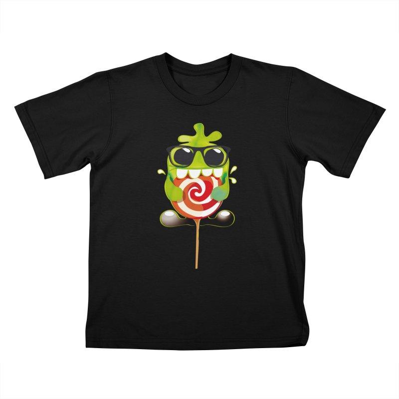 lolly monster Kids T-shirt by masslos's Artist Shop