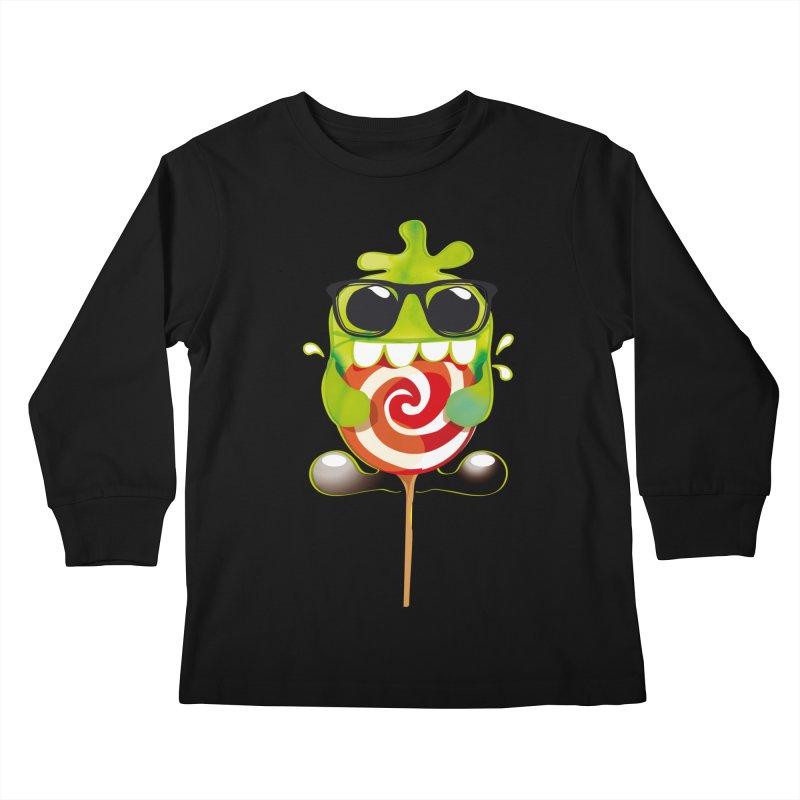 lolly monster Kids Longsleeve T-Shirt by masslos's Artist Shop