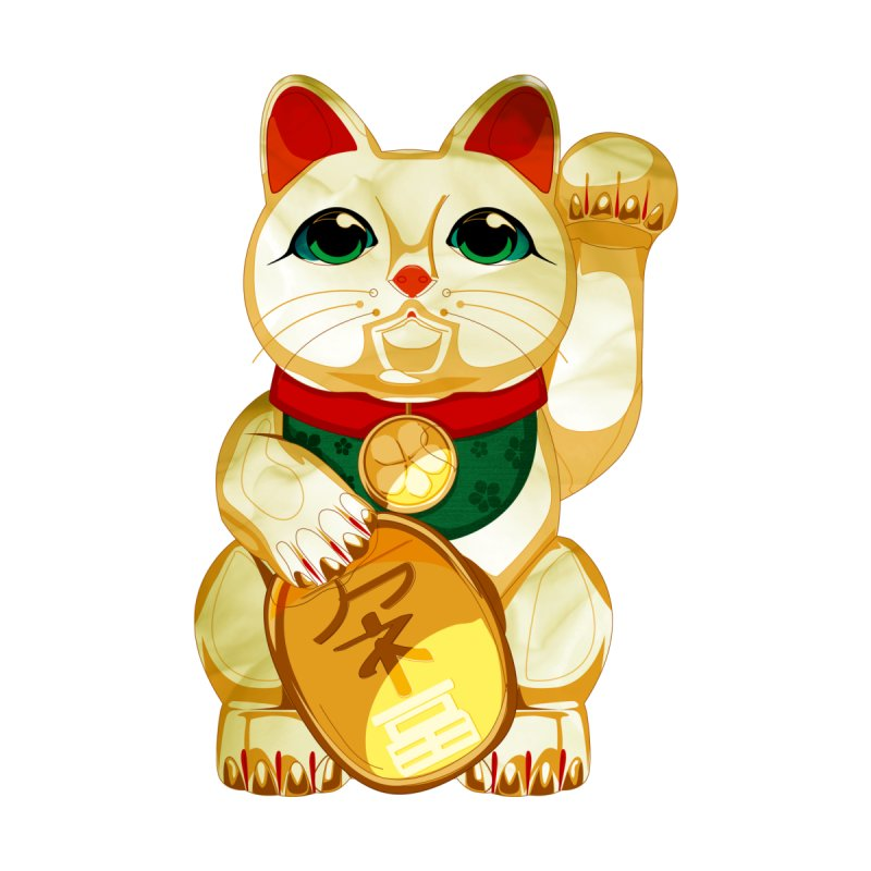 maneki neko by masslos's Artist Shop