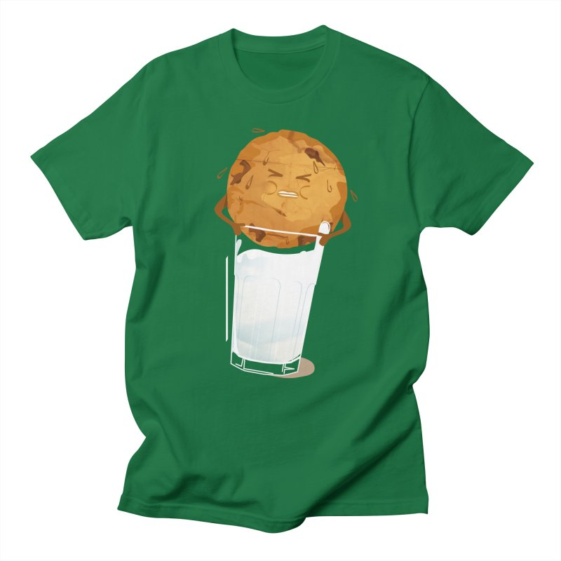milk'n'cookie Men's Regular T-Shirt by masslos's Artist Shop