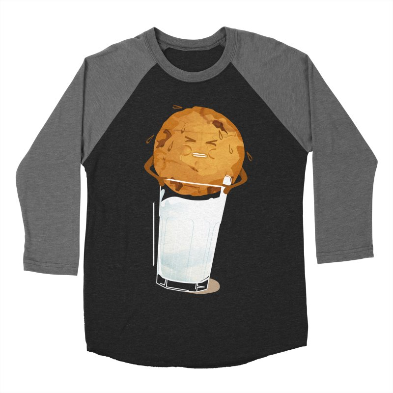 milk'n'cookie Men's Baseball Triblend T-Shirt by masslos's Artist Shop