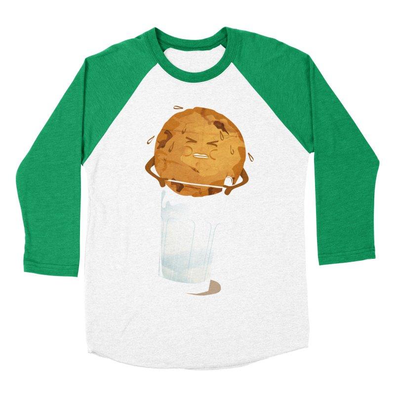 milk'n'cookie Men's Baseball Triblend T-Shirt by masslos's Artist Shop