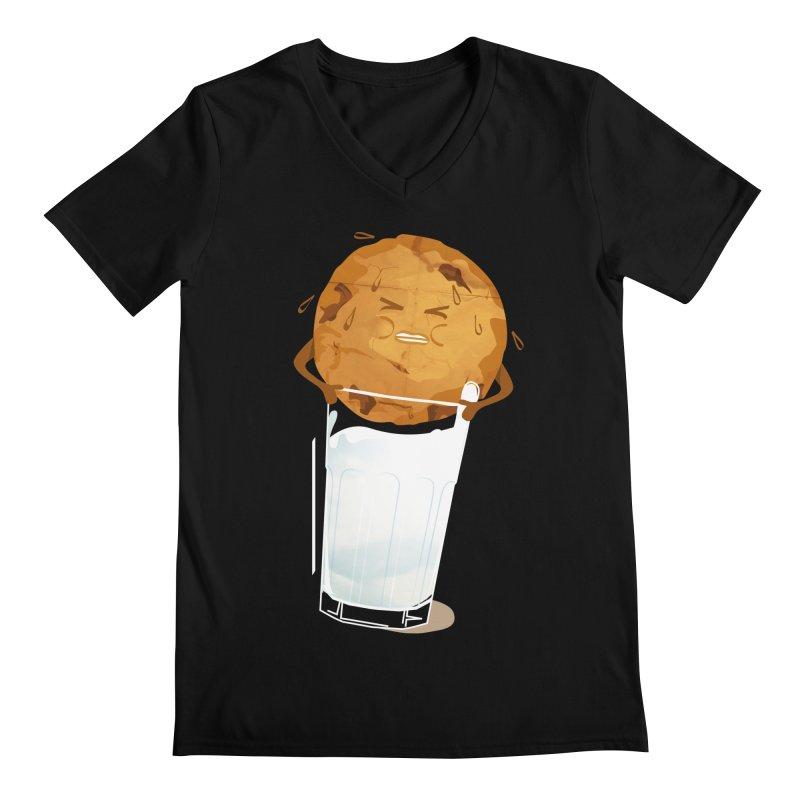 milk'n'cookie Men's V-Neck by masslos's Artist Shop