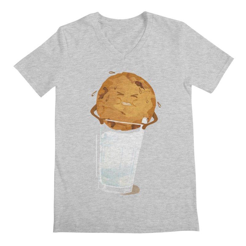 milk'n'cookie Men's Regular V-Neck by masslos's Artist Shop