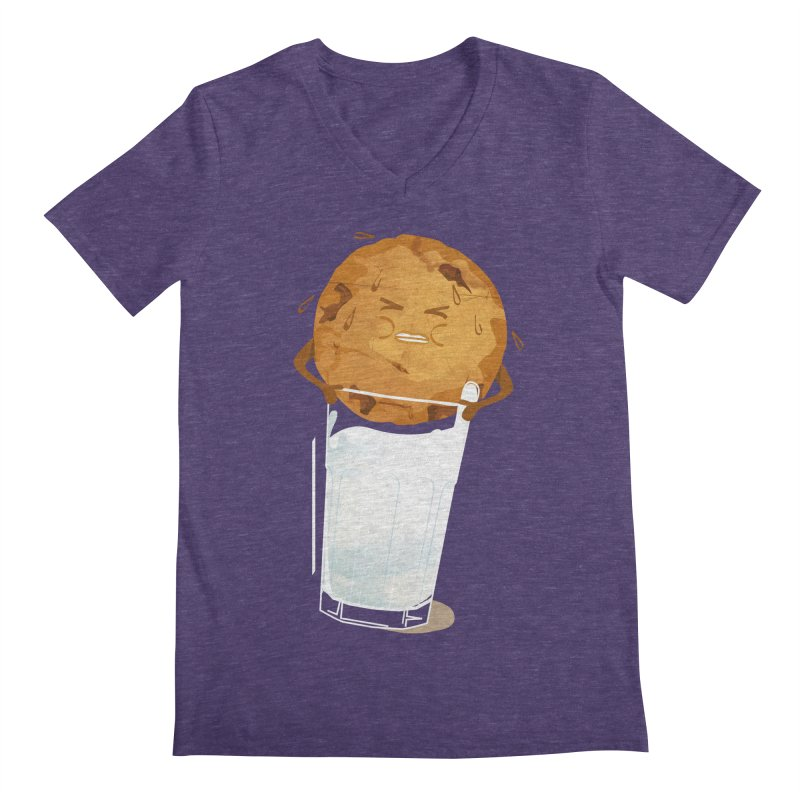 milk'n'cookie Men's V-Neck by masslos's Artist Shop