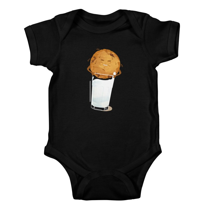 milk'n'cookie Kids Baby Bodysuit by masslos's Artist Shop