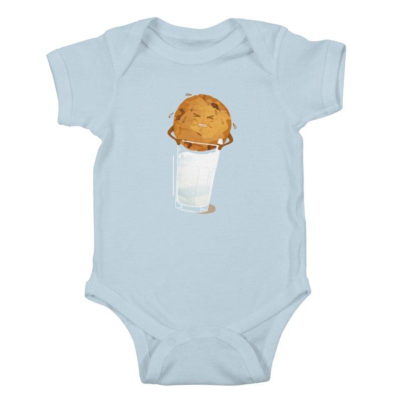 milk'n'cookie Kids Baby Bodysuit by masslos's Artist Shop