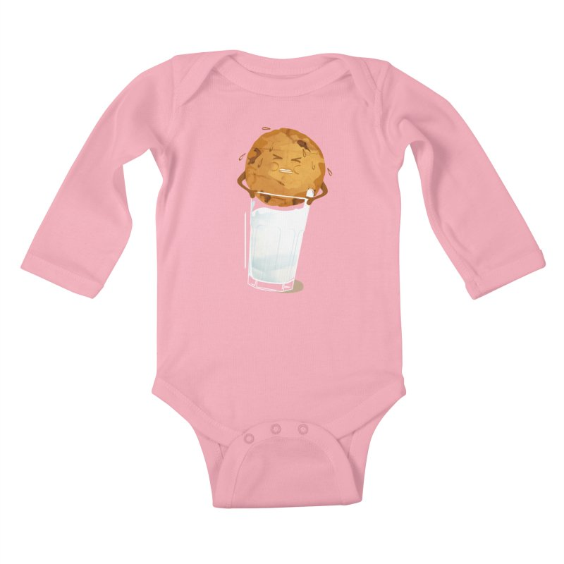 milk'n'cookie Kids Baby Longsleeve Bodysuit by masslos's Artist Shop