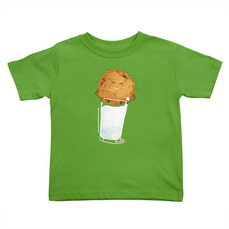 milk'n'cookie Kids Toddler T-Shirt by masslos's Artist Shop