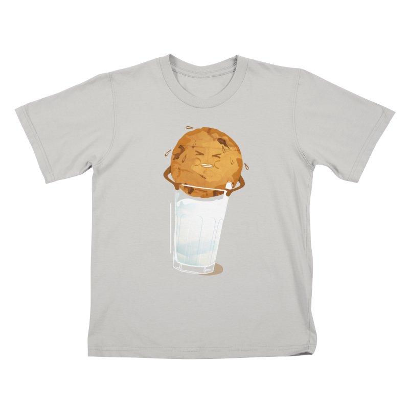 milk'n'cookie Kids T-Shirt by masslos's Artist Shop