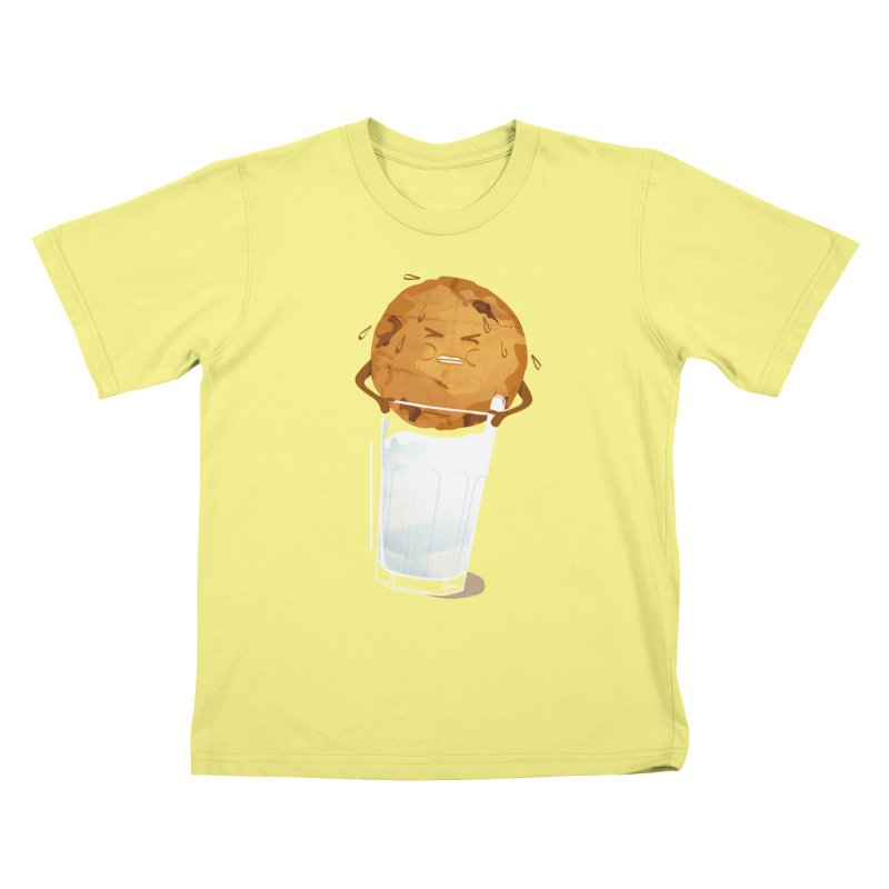milk'n'cookie Kids T-shirt by masslos's Artist Shop