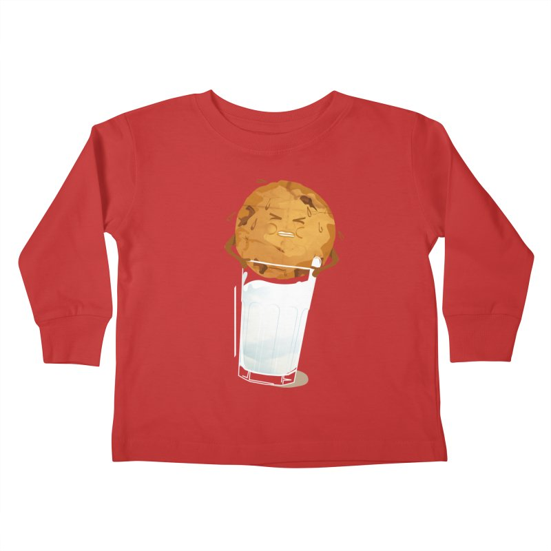 milk'n'cookie Kids Toddler Longsleeve T-Shirt by masslos's Artist Shop