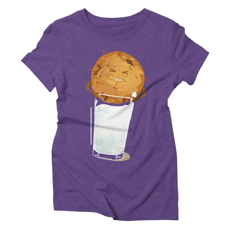 milk'n'cookie Women's Triblend T-Shirt by masslos's Artist Shop