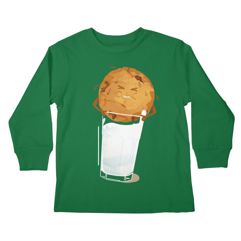 milk'n'cookie Kids Longsleeve T-Shirt by masslos's Artist Shop
