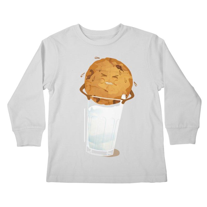 milk'n'cookie Kids Longsleeve T-Shirt by masslos's Artist Shop