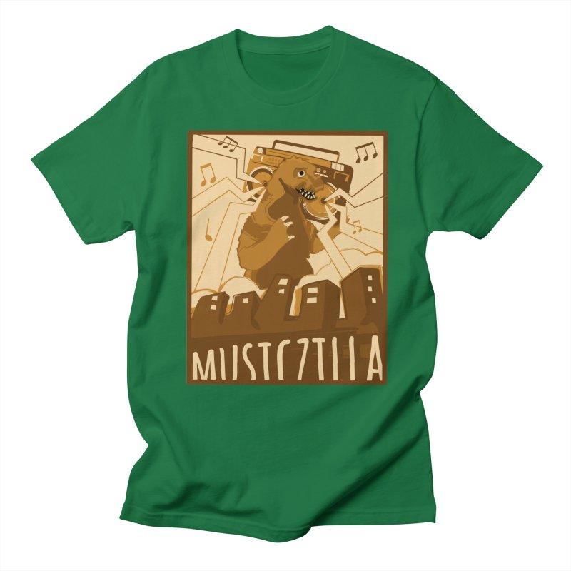 musiczilla Men's Regular T-Shirt by masslos's Artist Shop
