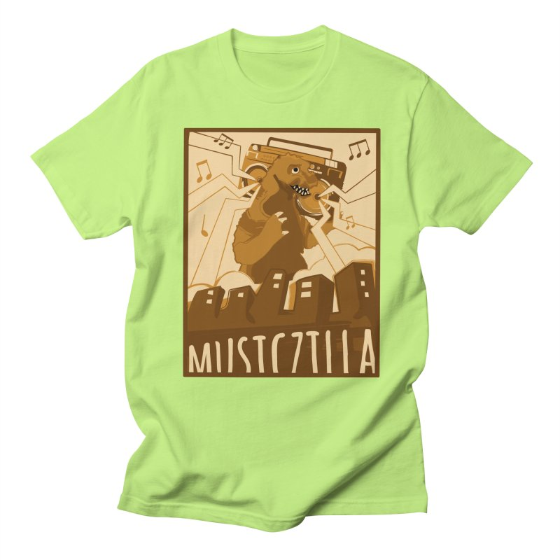 musiczilla Men's T-shirt by masslos's Artist Shop