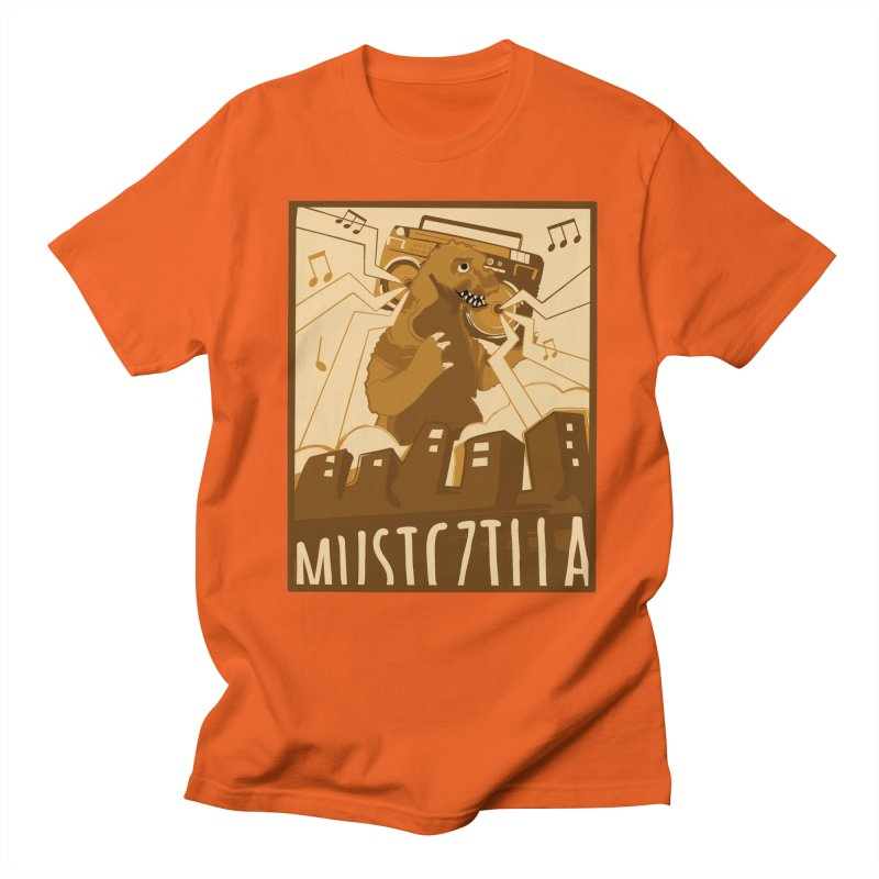 musiczilla Men's T-shirt by masslos's Artist Shop