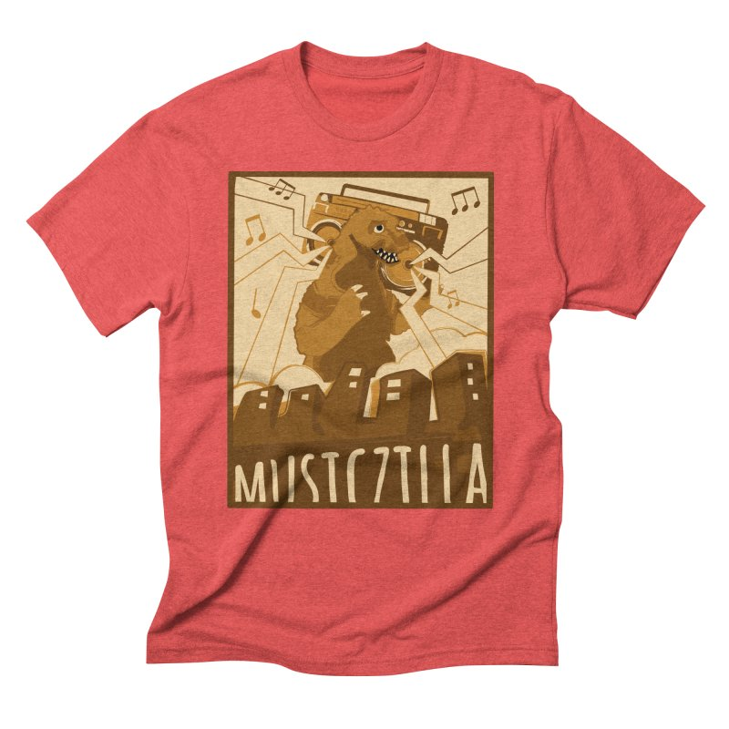 musiczilla Men's Triblend T-Shirt by masslos's Artist Shop