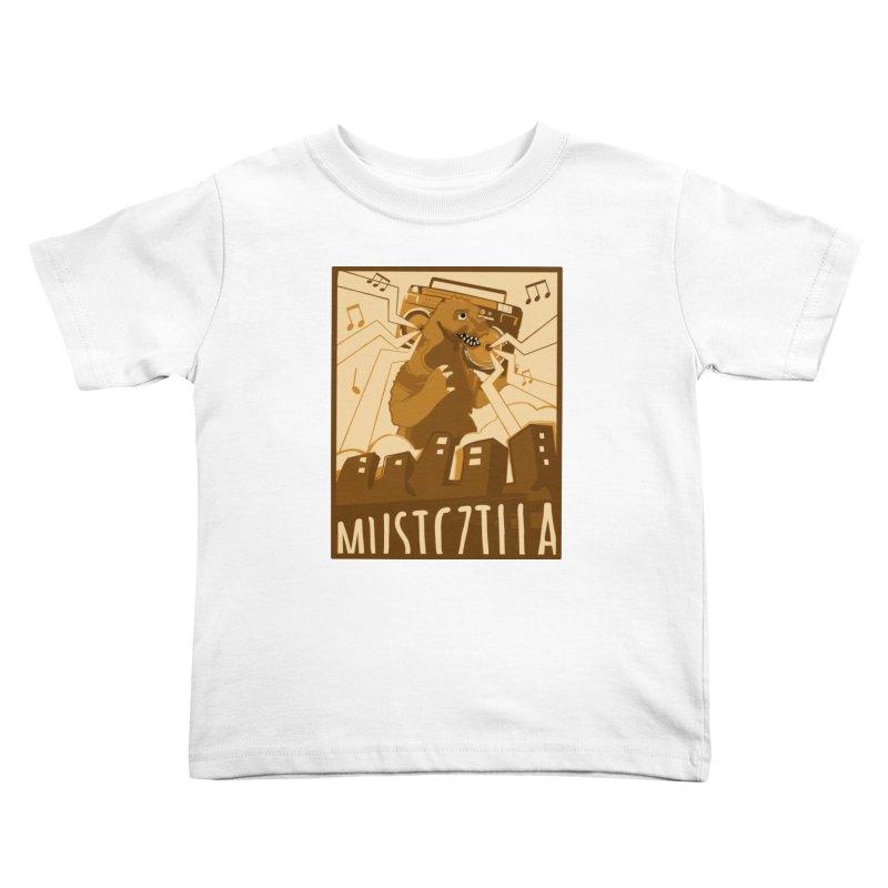 musiczilla Kids Toddler T-Shirt by masslos's Artist Shop