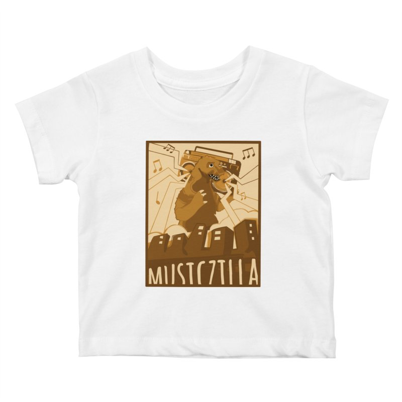 musiczilla Kids Baby T-Shirt by masslos's Artist Shop