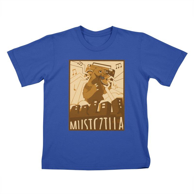 musiczilla Kids T-Shirt by masslos's Artist Shop