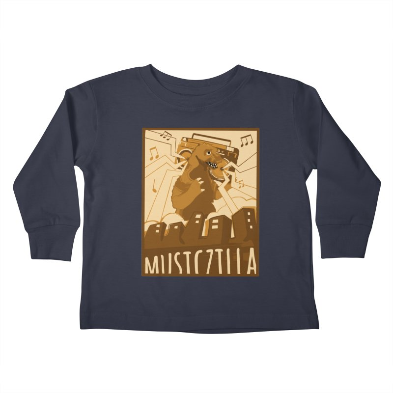 musiczilla Kids Toddler Longsleeve T-Shirt by masslos's Artist Shop
