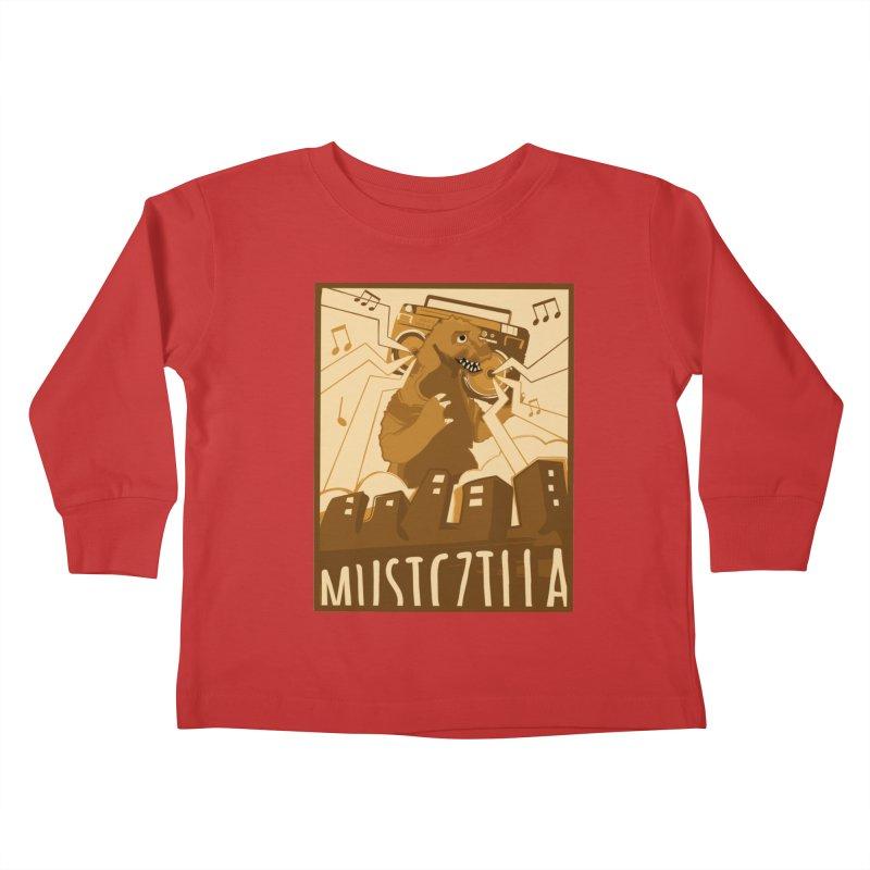 musiczilla Kids Toddler Longsleeve T-Shirt by masslos's Artist Shop