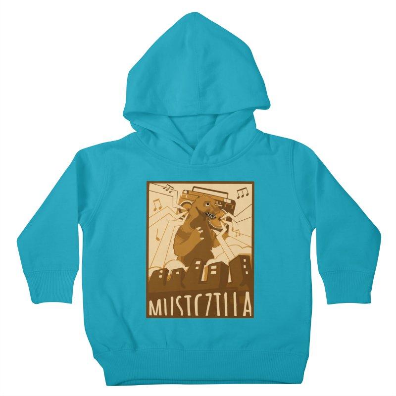 musiczilla Kids Toddler Pullover Hoody by masslos's Artist Shop