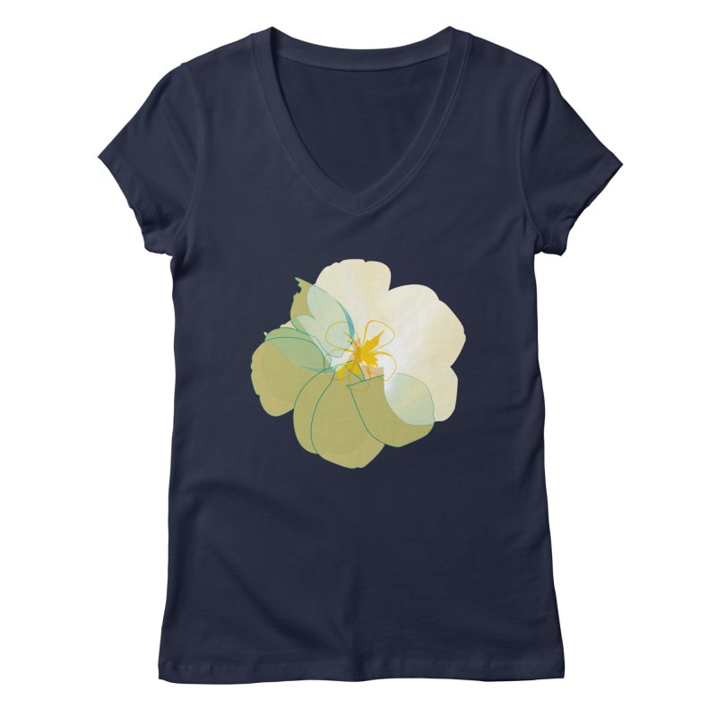 nacre Women's Regular V-Neck by masslos's Artist Shop