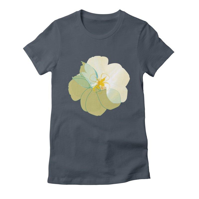 nacre Women's Fitted T-Shirt by masslos's Artist Shop