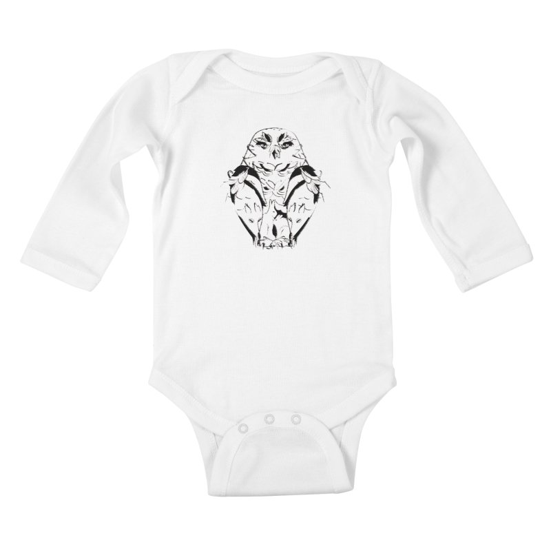 polar animal Kids Baby Longsleeve Bodysuit by masslos's Artist Shop